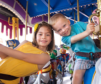 Paragon Carousel and Museum at Hull, Massachusetts