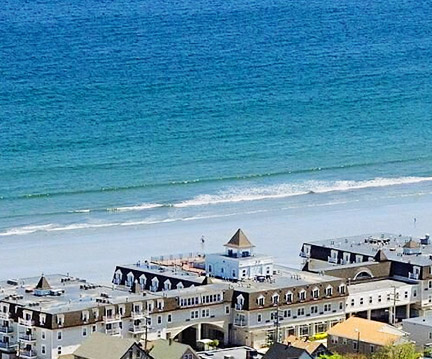Nantasket Beach at Hull, Massachusetts